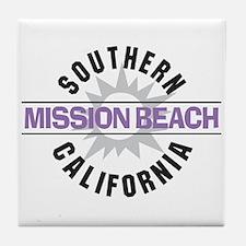Mission Beach Tile Coaster