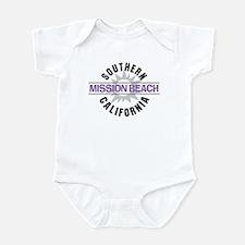 Mission Beach Infant Bodysuit