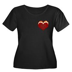 Burning Heart Valentine T