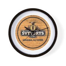Svyturys Barrel Wall Clock