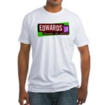 Edwards '08 for America Fitted T-Shirt