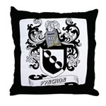 Pynchon Coat of Arms Throw Pillow