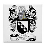 Pynchon Coat of Arms Tile Coaster