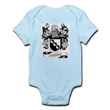 Pynchon Coat of Arms Infant Creeper