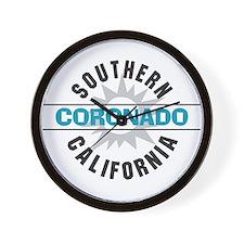 Coronado California Wall Clock