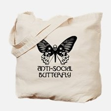 Cute Anti butterfly Tote Bag
