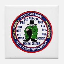 U.S Intelligence Tile Coaster