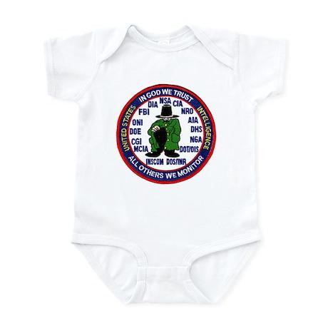 U.S Intelligence Infant Bodysuit