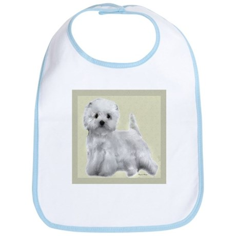 West Highland White Terrier Bib