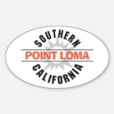 Point Loma California Sticker (Oval)