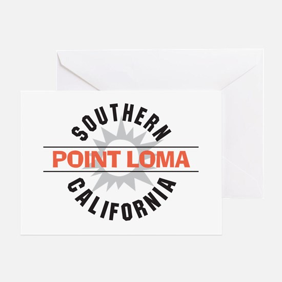 Point Loma California Greeting Card