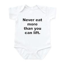 Piggy quotation Infant Bodysuit