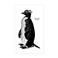 Rockhopper Penguin Rectangle Decal