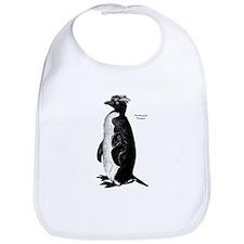 Rockhopper Penguin Bib