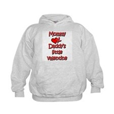 Mommy and Daddy's little valentine Hoodie