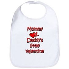 Mommy and Daddy's little valentine Bib