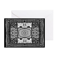 Indian Folk Art Greeting Cards (Pk of 20)