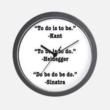 Do Be Do Wall Clock