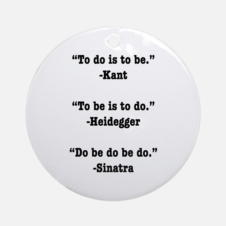 Do Be Do Ornament (Round)