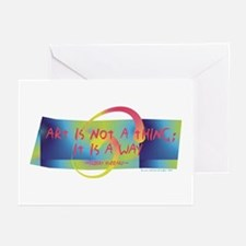 Art is a Way Greeting Cards (Pk of 10)
