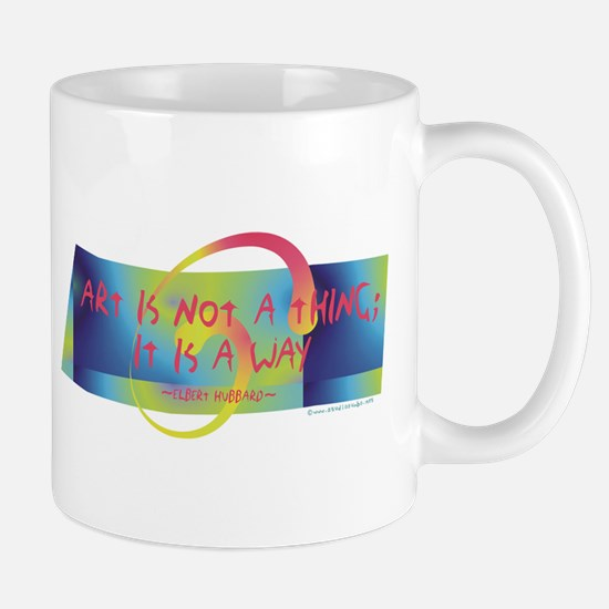 Art is a Way Mug