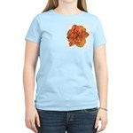 Coral Double Daylily Women's Light T-Shirt