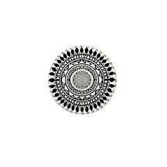 Hindu Folk Art Mini Button (10 pack)