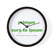 Primum Wall Clock