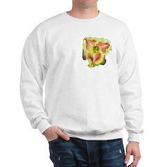 Pink w/ Ruffles Daylily Sweatshirt