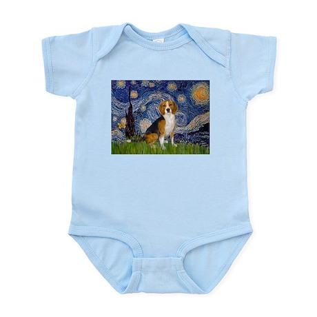 Starry Night & Beagle Infant Creeper