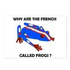 FRENCH FROG Postcards (Package of 8)
