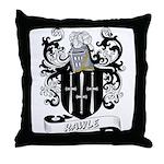 Rawle Coat of Arms Throw Pillow