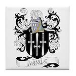 Rawle Coat of Arms Tile Coaster