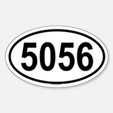 5056 Oval Decal