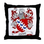 Reade Coat of Arms Throw Pillow
