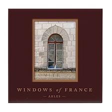 Windows of France-Arles Tile Coaster