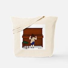 Young Ludwig Beethoven Signature Piano Book Bag