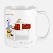 Practice Maintains Perfect Mozart Piano Mug