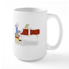 Young Mozart Child Prodigy Plays the Piano Lg. Mug