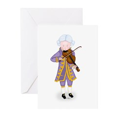 Practice Maintains Perfect Violin Greeting Cards (