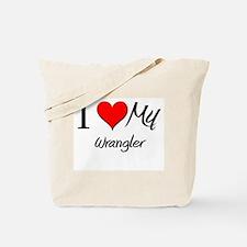 I Heart My Wrangler Tote Bag