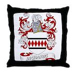 Richards Coat of Arms Throw Pillow