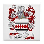 Richards Coat of Arms Tile Coaster