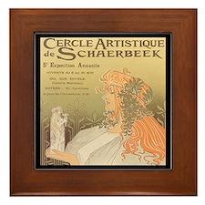 Cercle Artistique Framed Tile