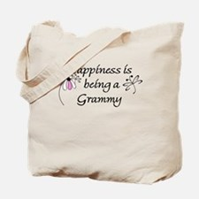 Happiness Is Grammy Tote Bag