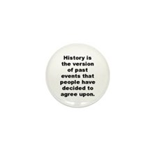 Cool Napoleon bonaparte quotation Mini Button (100 pack)