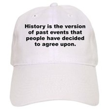 Bonaparte quote Baseball Cap
