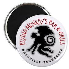 Flying Monkeys Bar & Grill Magnet