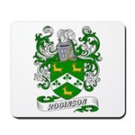 Robinson Coat of Arms Mousepad