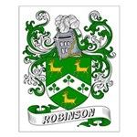 Robinson Coat of Arms Small Poster